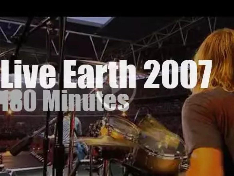Madonna, Foo Fighters, Kasabian et al save the planet (2007)