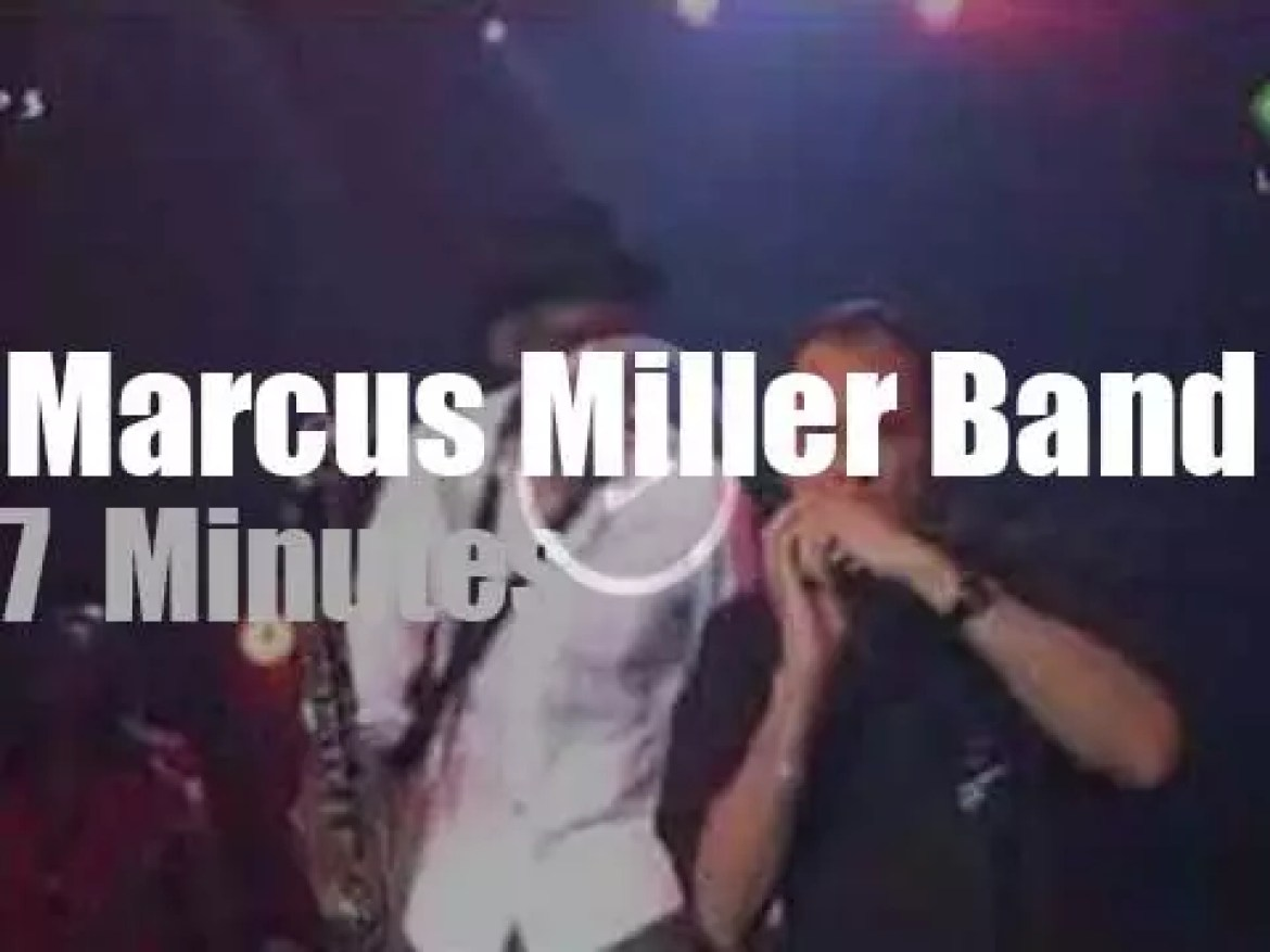 Marcus Miller Band stands in for Amy (2007)