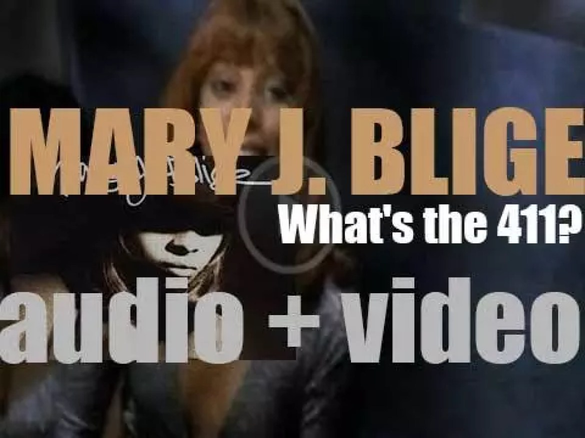 Mary J. Blige releases her debut album : 'What's the 411?' featuring 'You Remind Me' and 'Real Love' (1992)