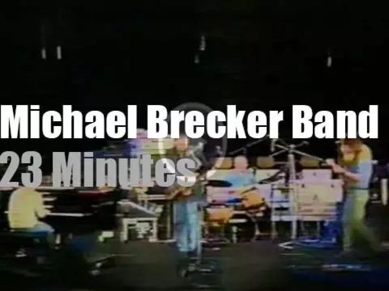 Michael Brecker Band plays in Berlin  (1987)