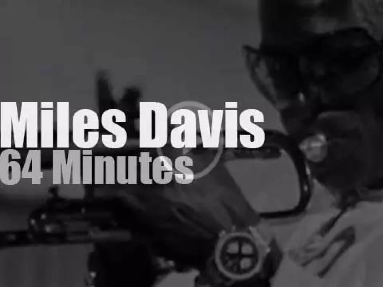 Miles Davis plays in Antibes (1969)