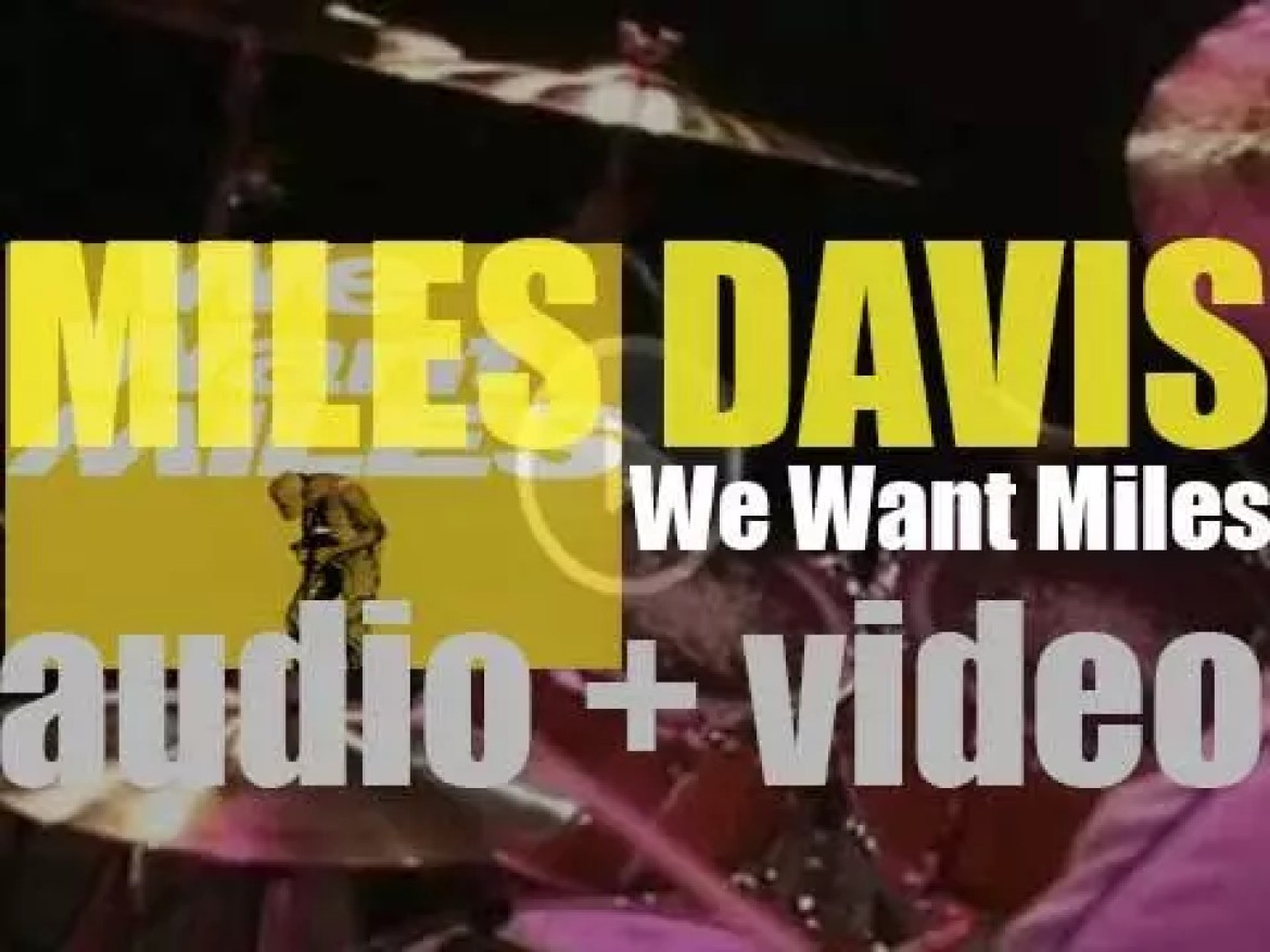 Miles Davis records in New-York  'We Want Miles' produced by Teo Macero (1981)