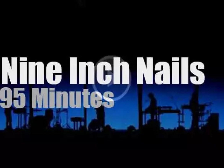 Nine Inch Nails headline Fuji Rock Festival Day 1 (2013)