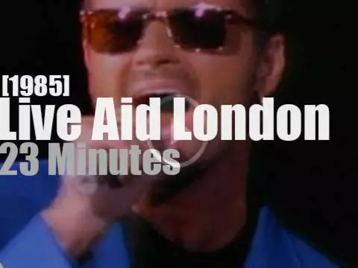 On TV today, watch Live Aid from London (1985)