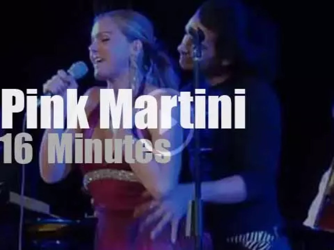 Storm Large sings with Pink Martini in Italy (2012)