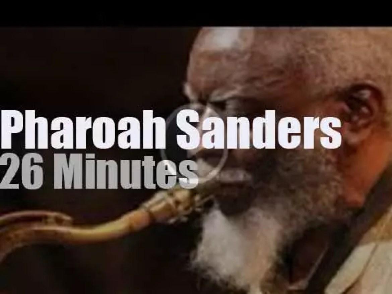 Pharoah Sanders plays at Montreux Jazz (1978)