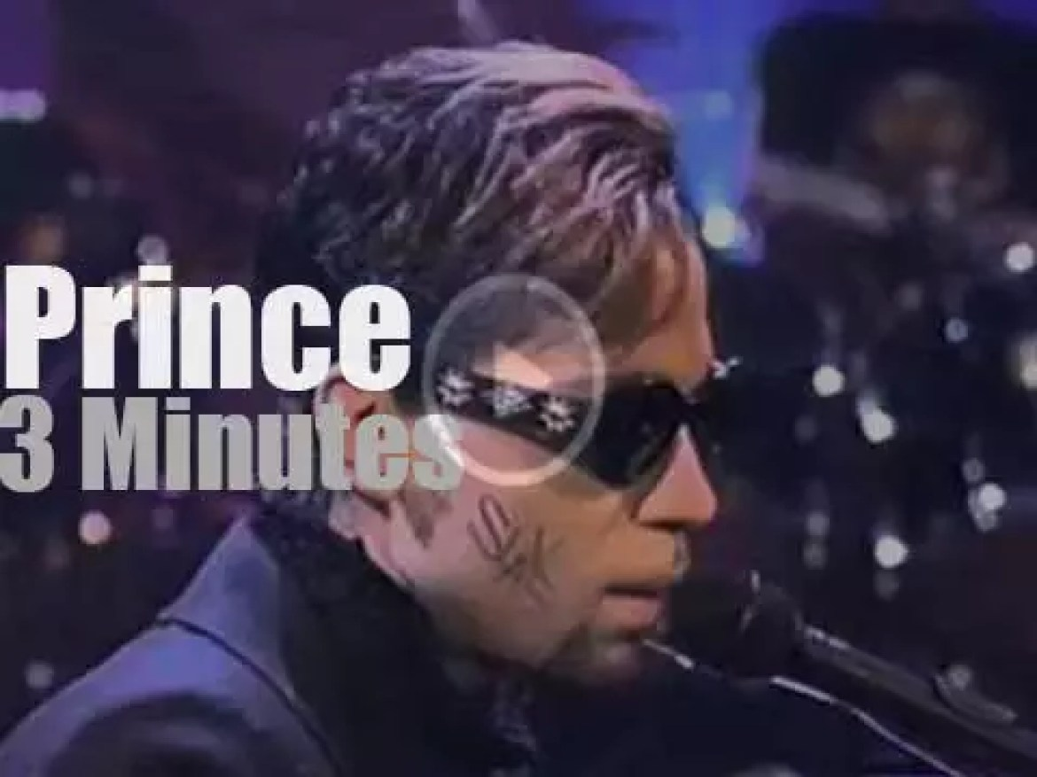 FKA (Formerly Known As) Prince is on Letterman (1996)