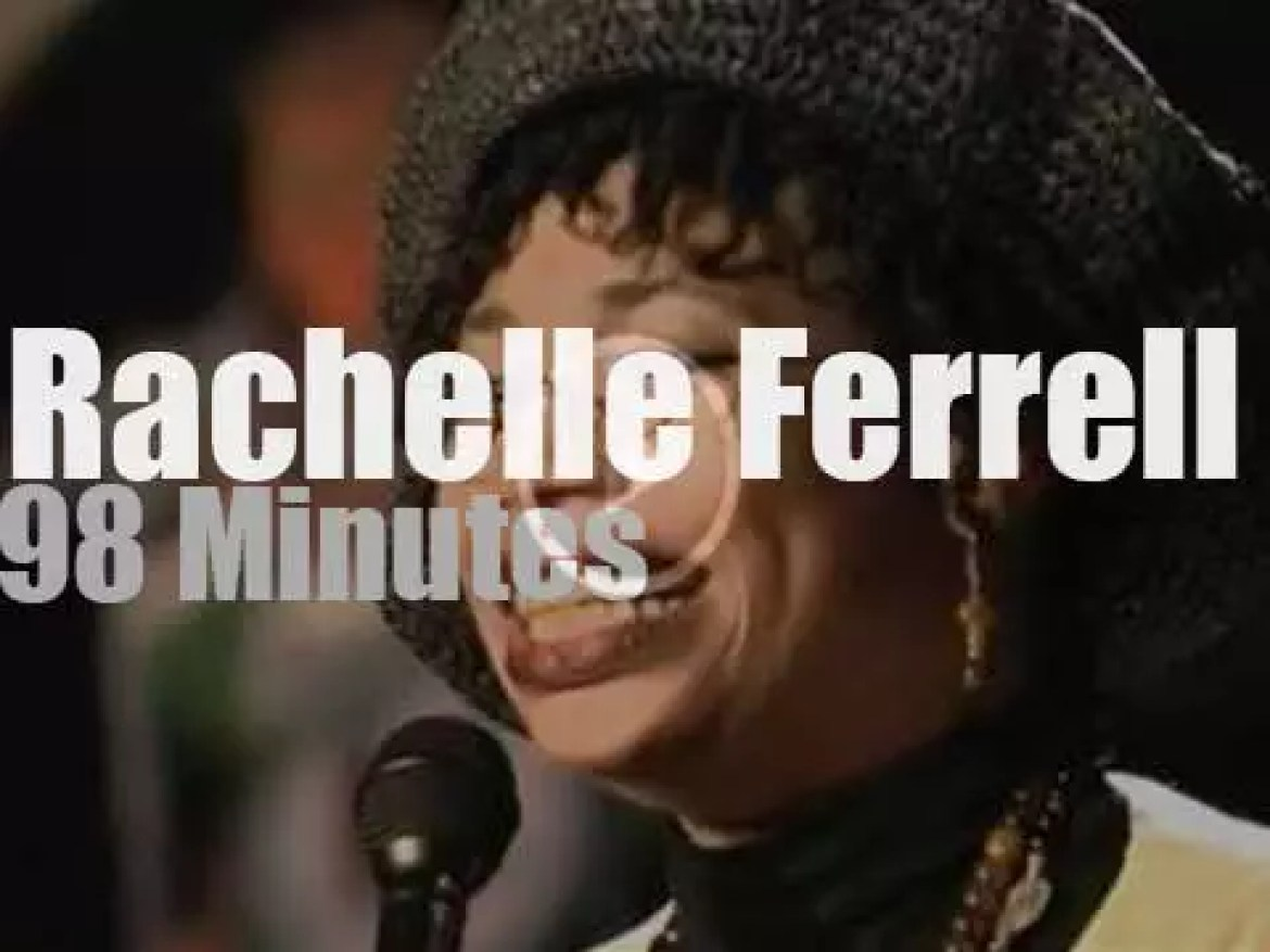 Rachelle Ferrell sings at Montreux Jazz, then Patti Austin comes in (1997)