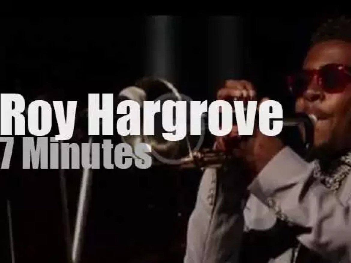 Roy Hargrove is at  Blue Note Milano (2015)