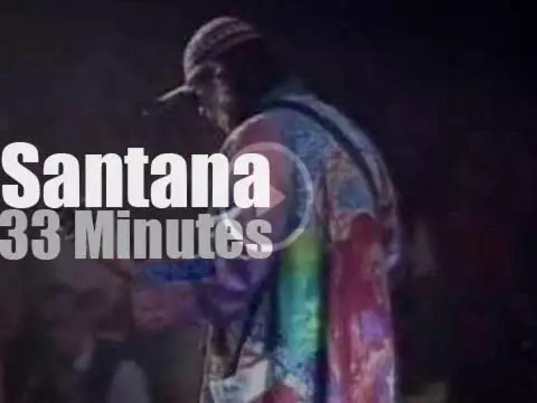 Santana plays at Montreux Jazz (1996)