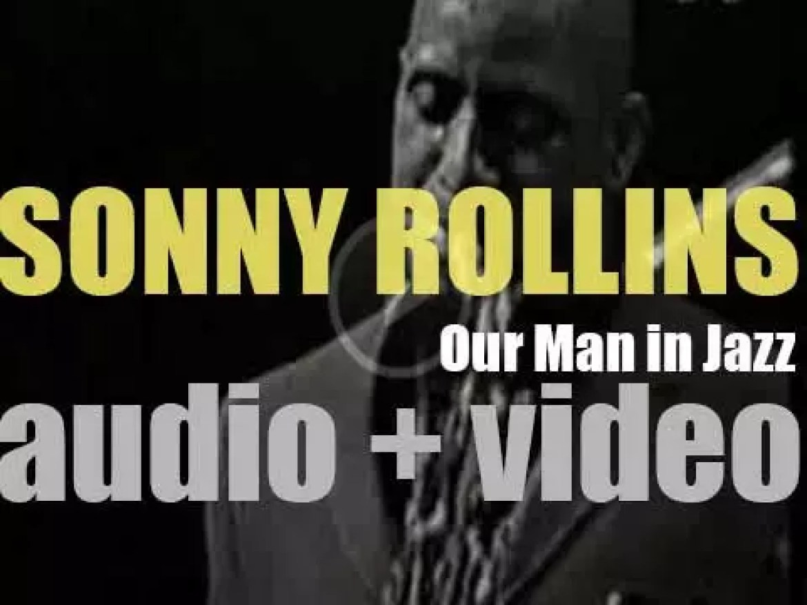 Sonny Rollins records 'Our Man in Jazz' at The Village Gate in New York Cit (1962)