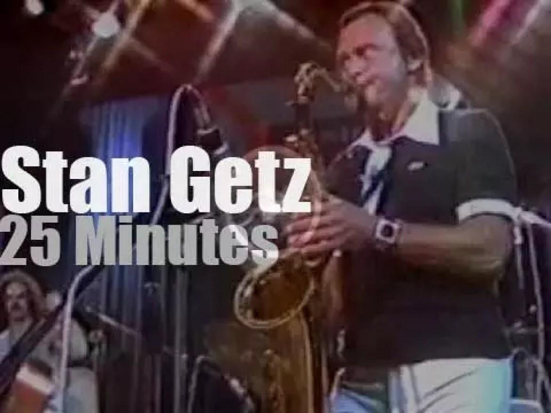 Stan Getz plays at Montreux Jazz (1978)