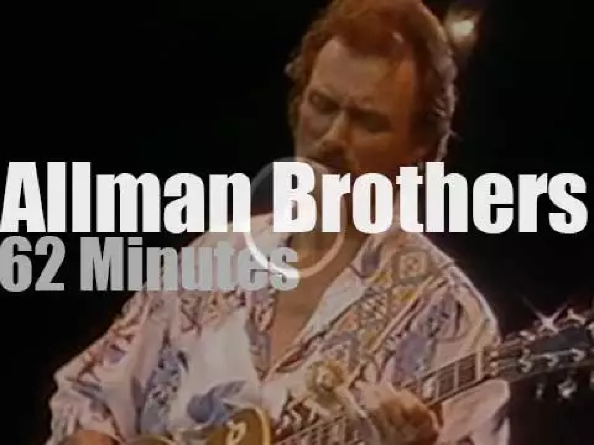 The Allman Brothers Band play in Nashville (1986)