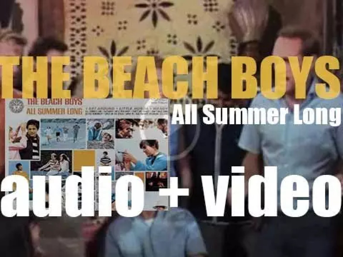 Capitol release The Beach Boys' 'All Summer Long,' their sixth album featuring 'I Get Around' (1964)