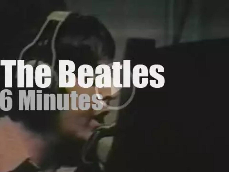 The Beatles record their next single (1968)