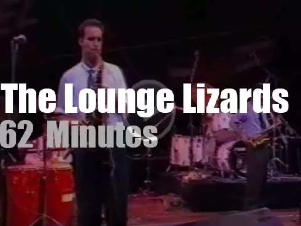The Lounge Lizards are in Stuttgart (1989)