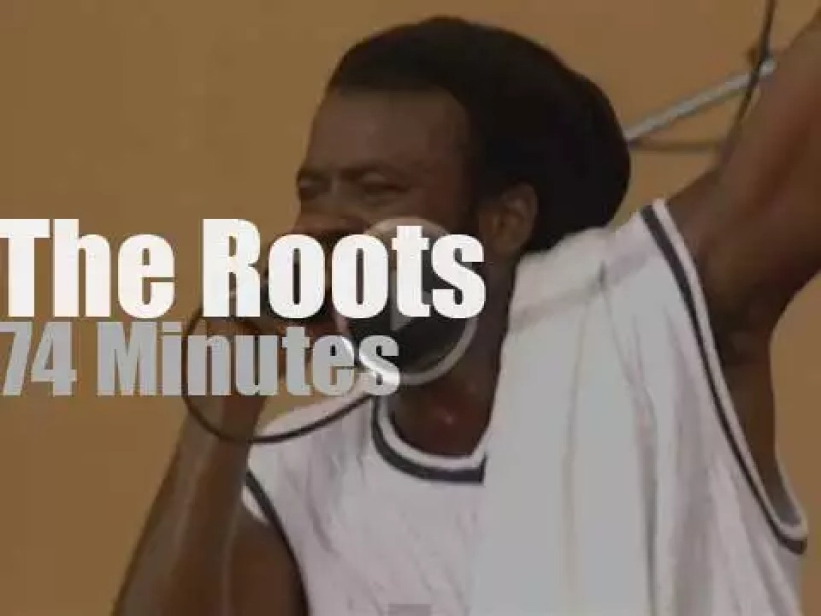 The Roots  are at Woodstock '99 day 2 (1999)
