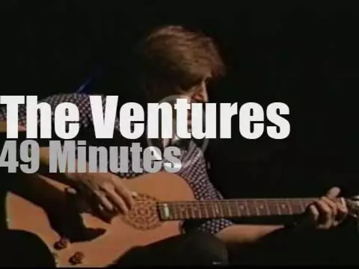 The Ventures are on Japanese TV (1994)