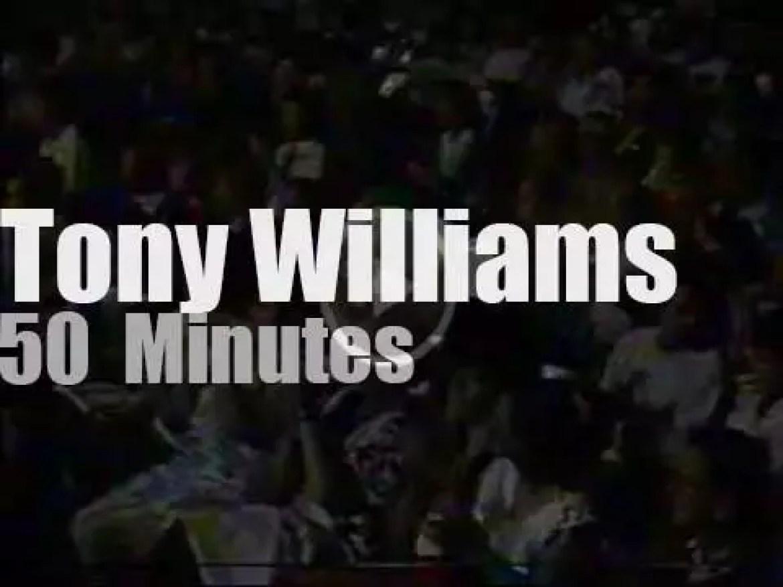 Tony Williams  visits Andorra (1988)