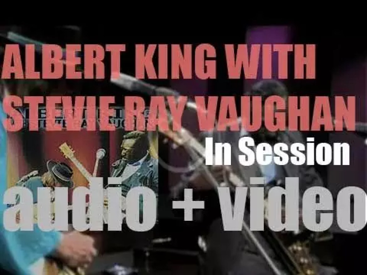 Stax Records release Albert King's 'In Session' recorded for Canadian television with Stevie Ray Vaughan (1999)