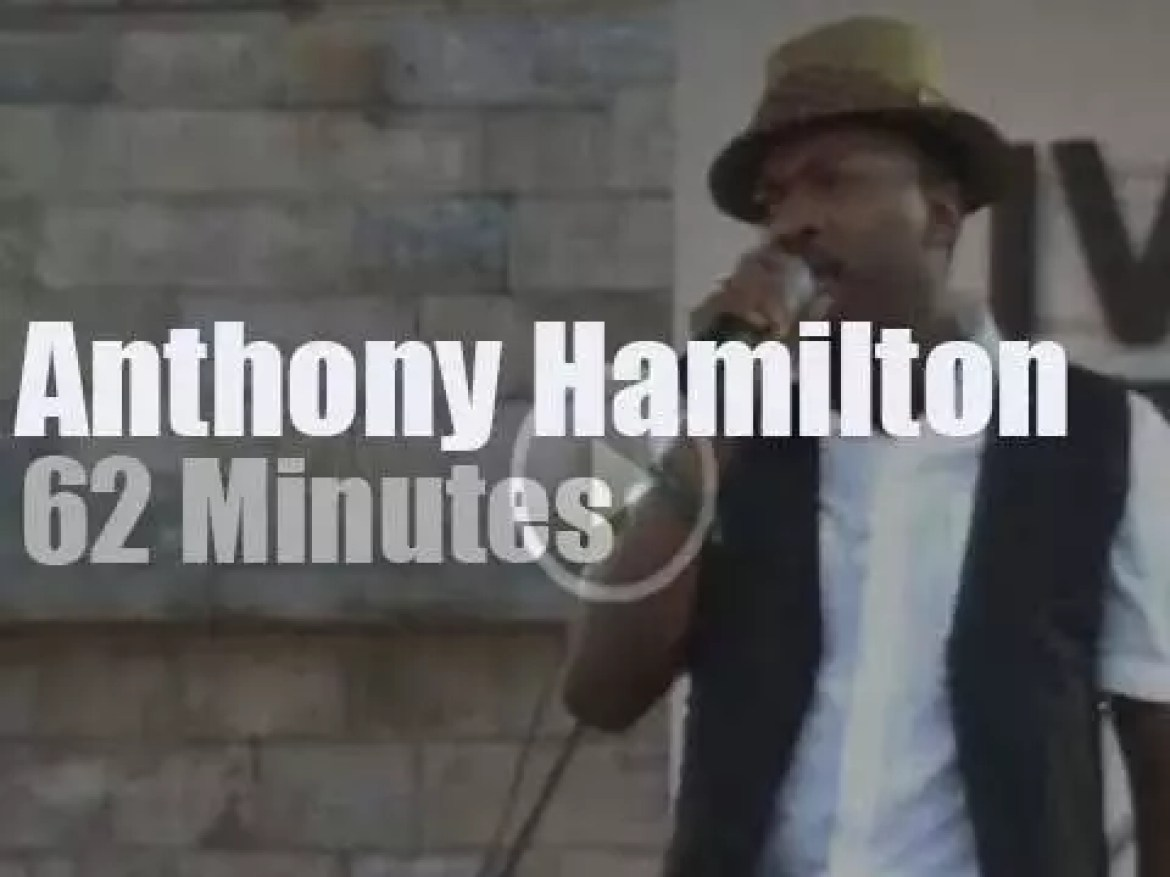 Anthony Hamilton sings at Newport Jazz (2008)
