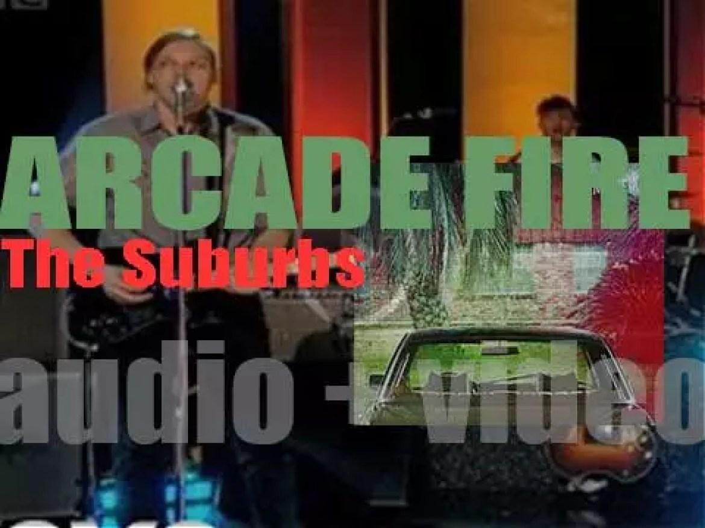 Arcade Fire release their third album : 'The Suburbs' (2010)