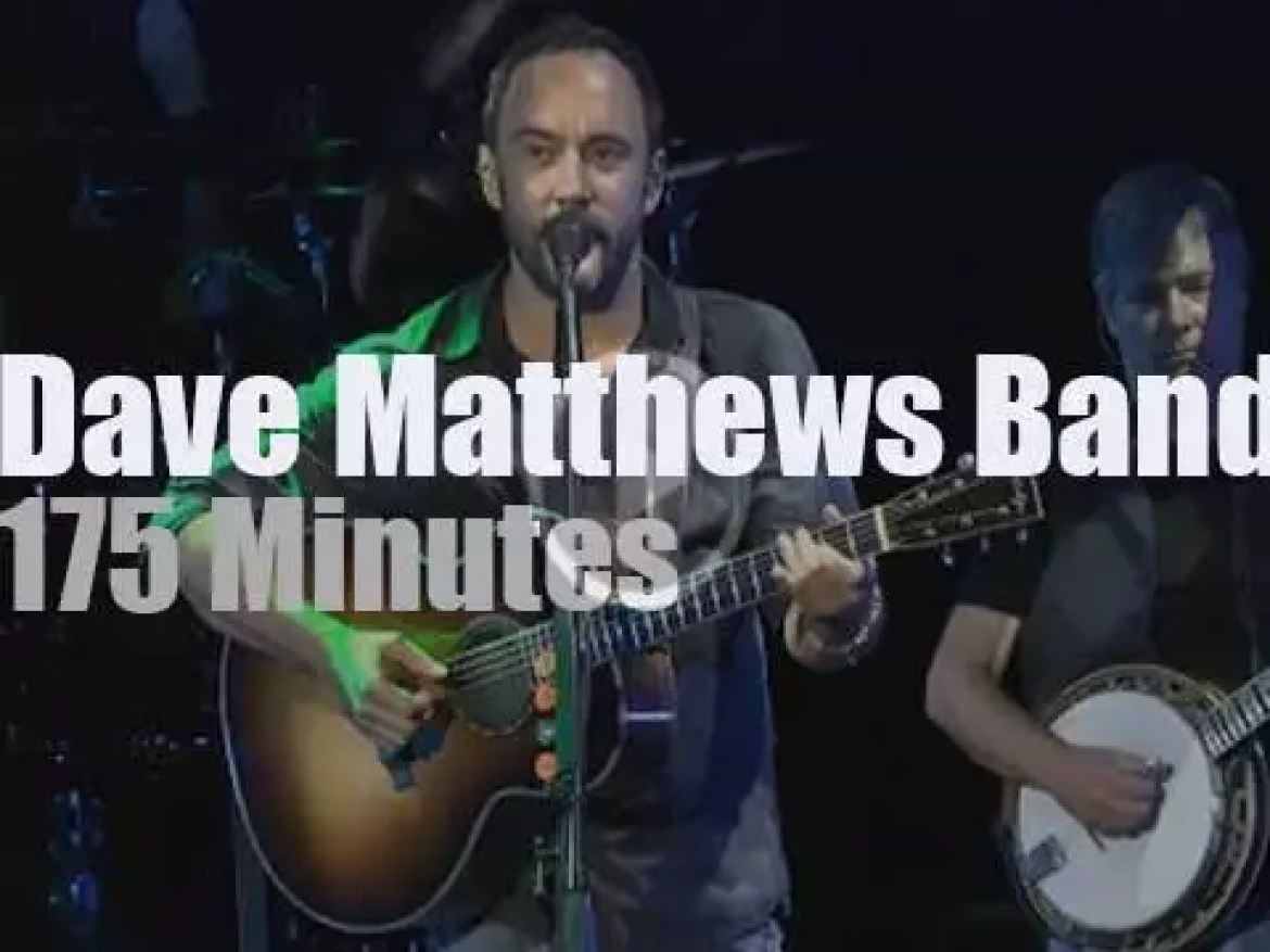 Bela Fleck sits in with the Dave Matthews Band (2015)