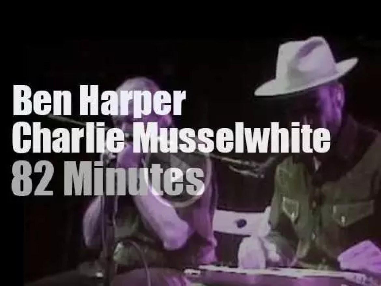 Ben Harper meets Charlie Musselwhite in Colorado (2013)