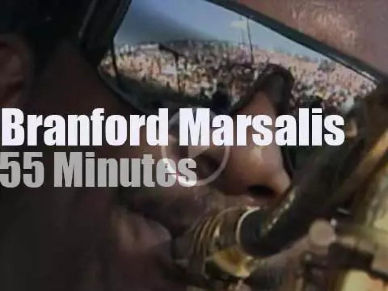 Branford Marsalis plays at Newport Jazz (1987)