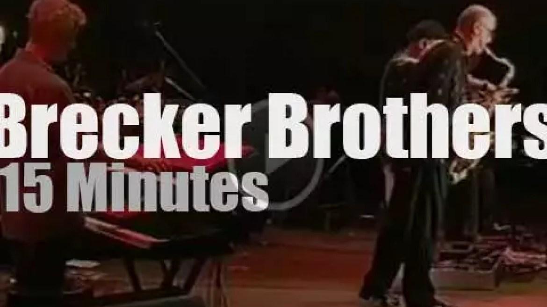 Brecker Brothers play at Mt Fuji Jazz (2003)