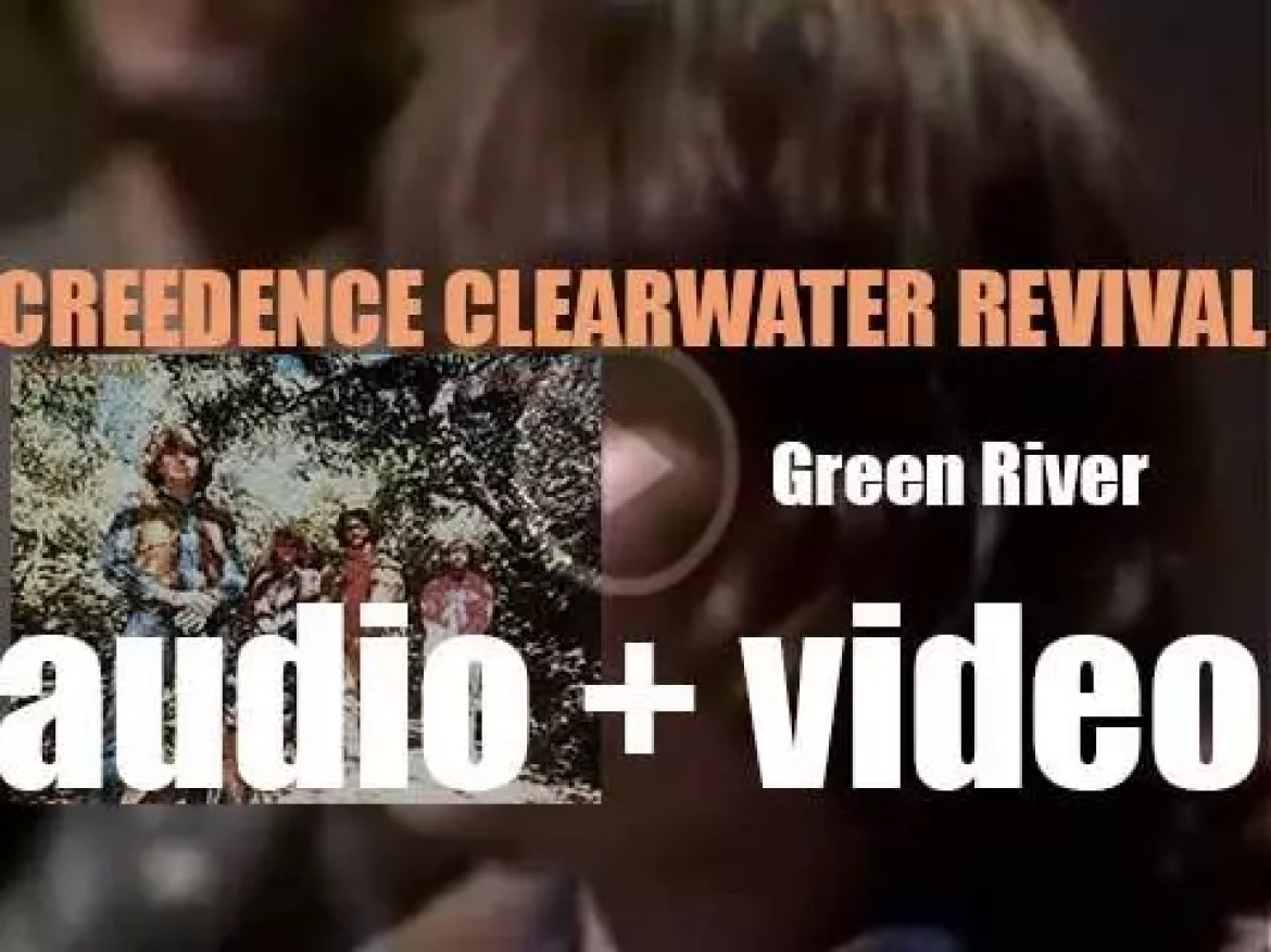 Creedence Clearwater Revival release 'Green River' featuring 'Bad Moon Rising' (1969)