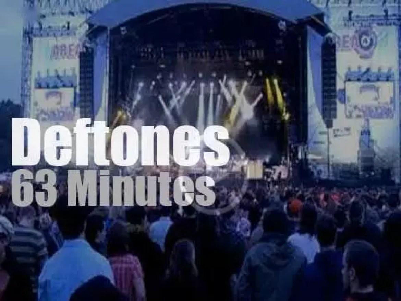 Deftones attend a German festival (2009)