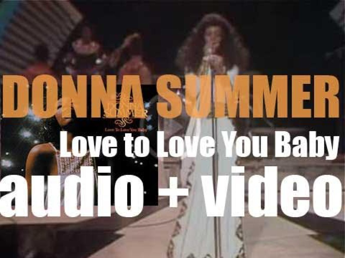 Casablanca release Donna Summer's second album : 'Love to Love You Baby' (1975)