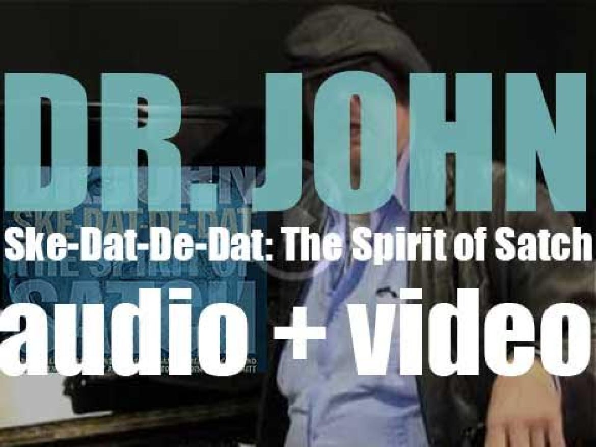 Dr. John releases 'Ske-Dat-De-Dat: The Spirit of Satch,' a tribute album to Louis Armstrong (2014)