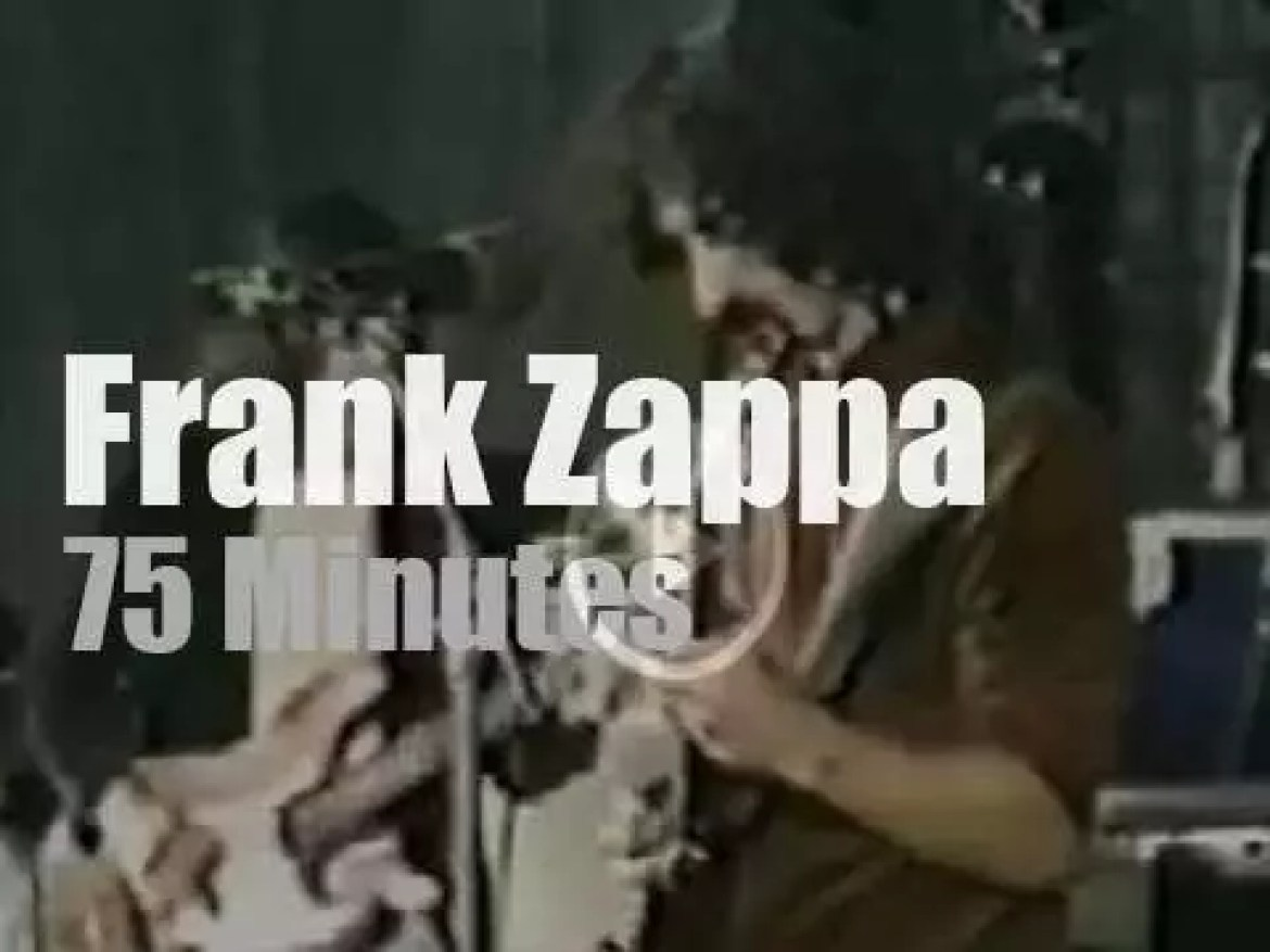 Frank Zappa & band are in Stockholm (1973)