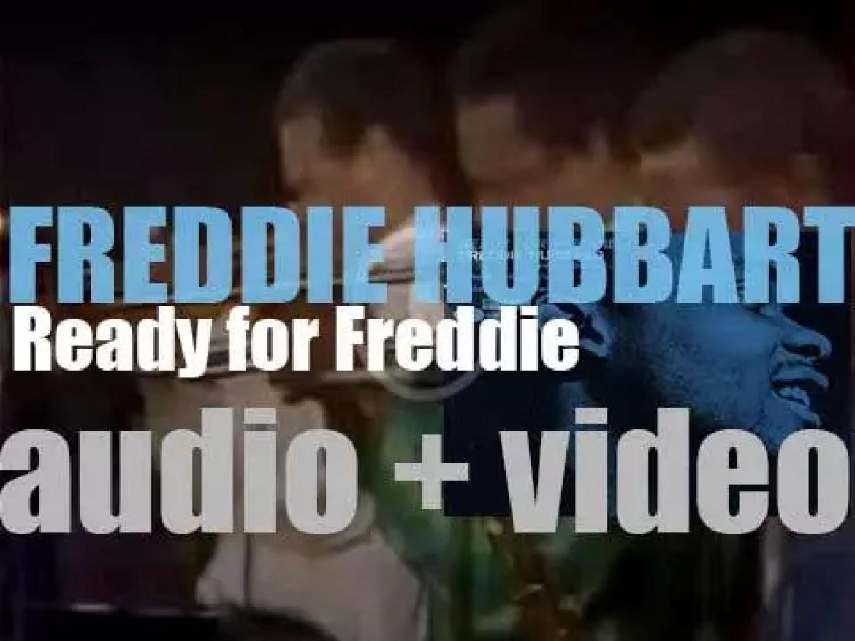 Freddie Hubbard records 'Ready for Freddie' with Wayne Shorter, McCoy Tyner et al (1961)