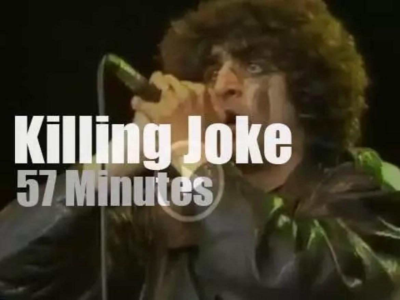 German TV tapes Killing Joke (1985)