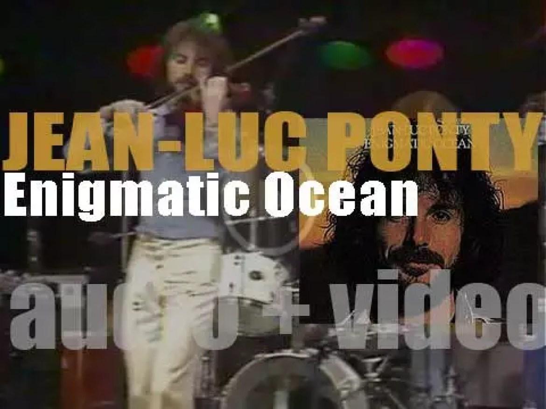 Atlantic publish Jean-Luc Ponty's 'Enigmatic Ocean' recorded with Allan Holdsworth, Daryl Stuermer et al (1977)