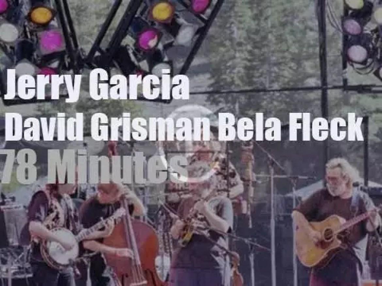 Jerry Garcia,  David Grisman et al meet in California (1991)