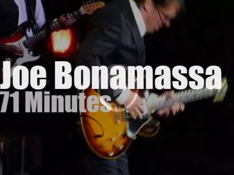 Joe Bonamassa takes The Muddy Wolf Blues Band to Colorado (2014)