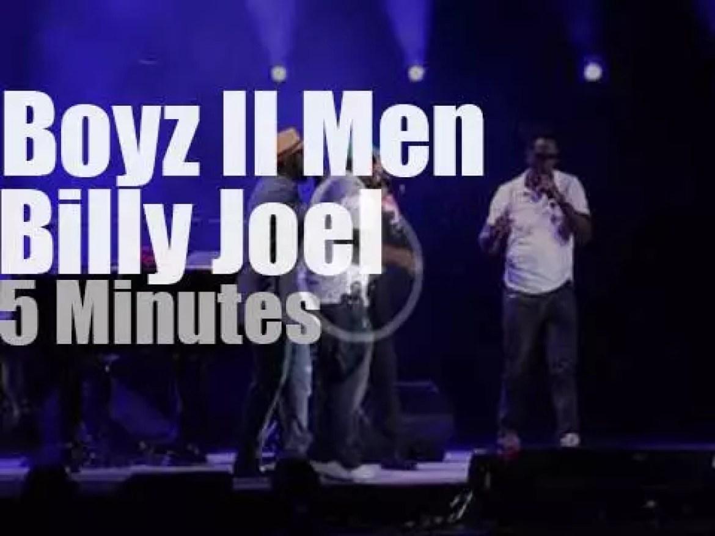 Local Boyz II Men join Billy Joel in Philadelphia (2014)