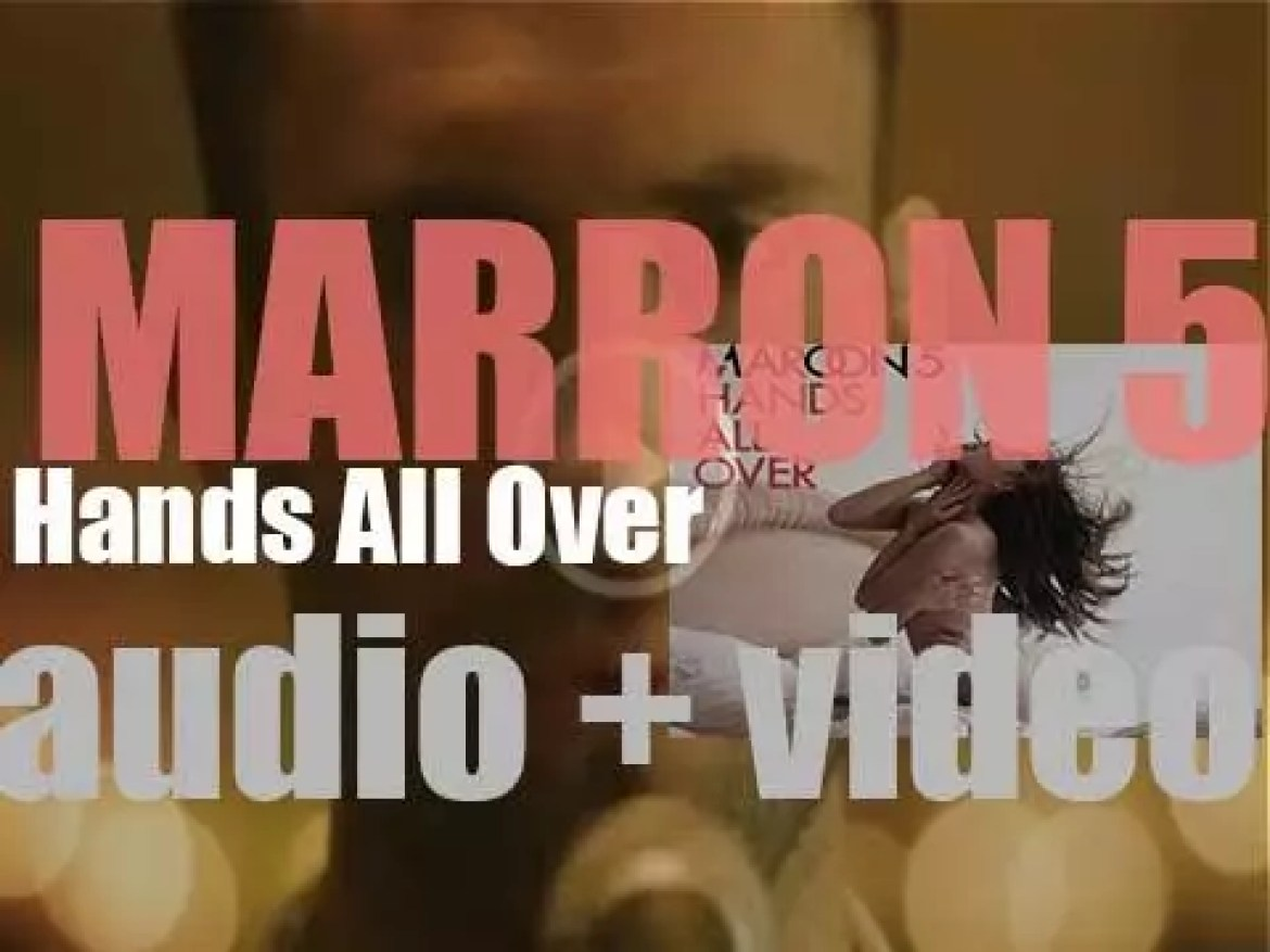 Maroon 5 release their third album : 'Hands All Over' featuring 'Moves like Jagger' (2010)