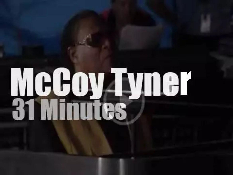 McCoy Tyner & His Trio perform at Newport Jazz (1990)