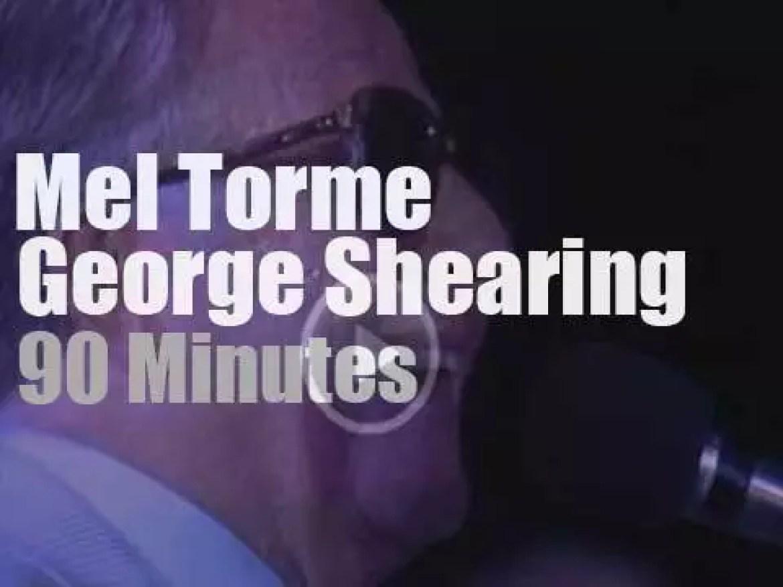 Mel Torme & George Shearing meet in Newport (1989)