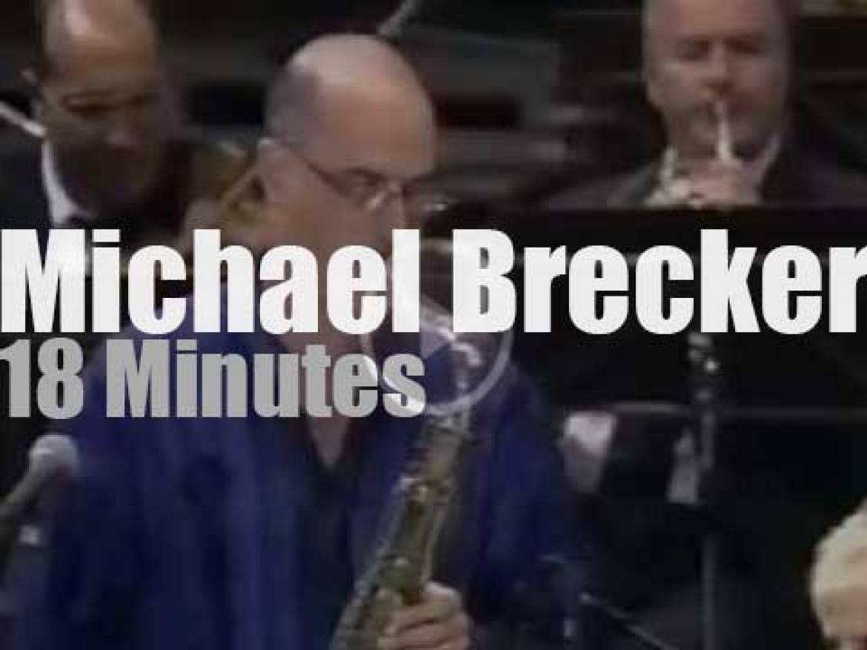 Michael Brecker plays a concerto (2000)