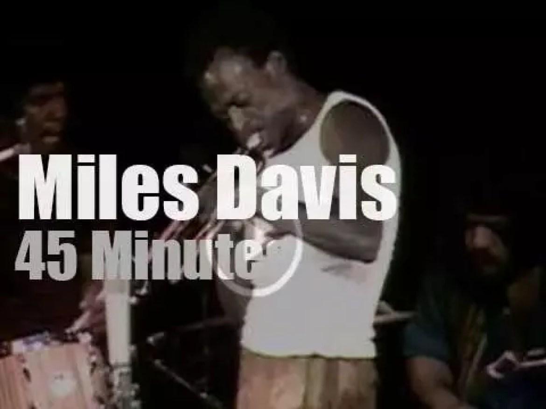 Miles Davis visits Tanglewood (1970)