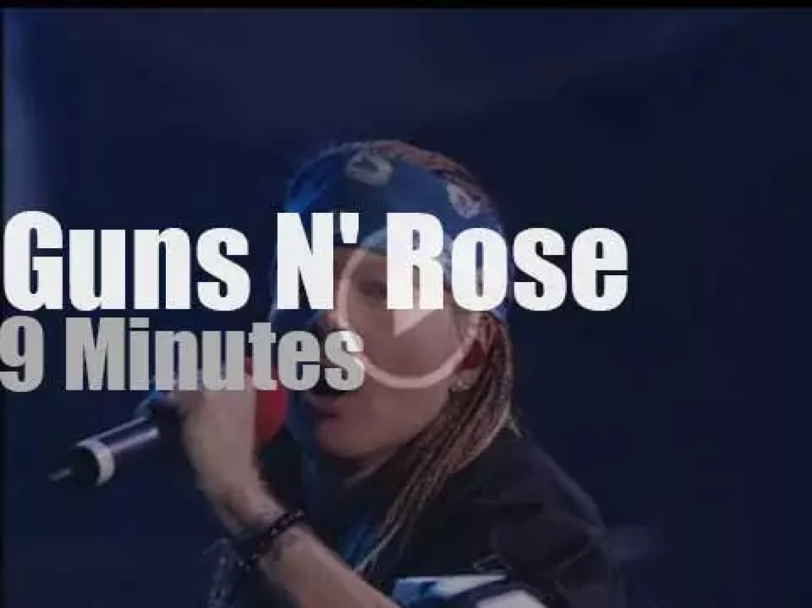 On TV today, Buckethead sits in with Guns N' Roses  (2002)