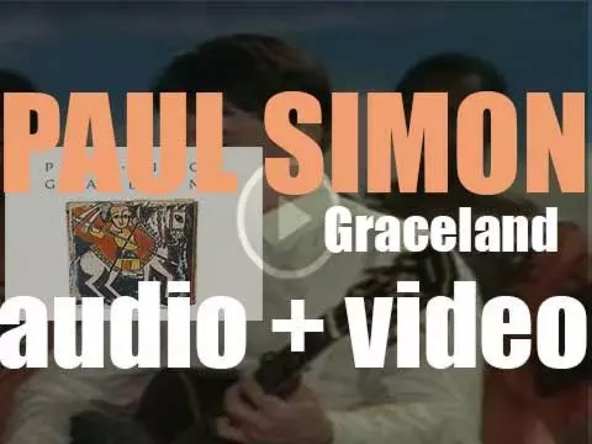 Paul Simon releases his seventh album : 'Graceland' featuring 'You Can Call Me Al' and 'The Boy in the Bubble' (1986)