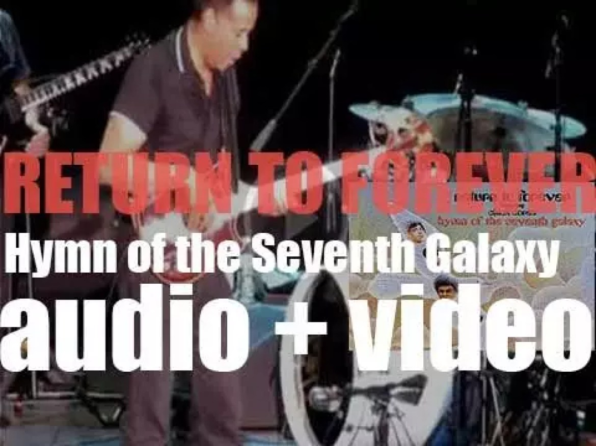 Return to Forever record 'Hymn of the Seventh Galaxy,' their third album (1973)