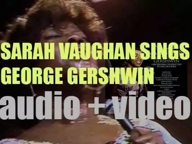 Sarah Vaughan records 'Sarah Vaughan Sings George Gershwin' for EmArcy (1958)